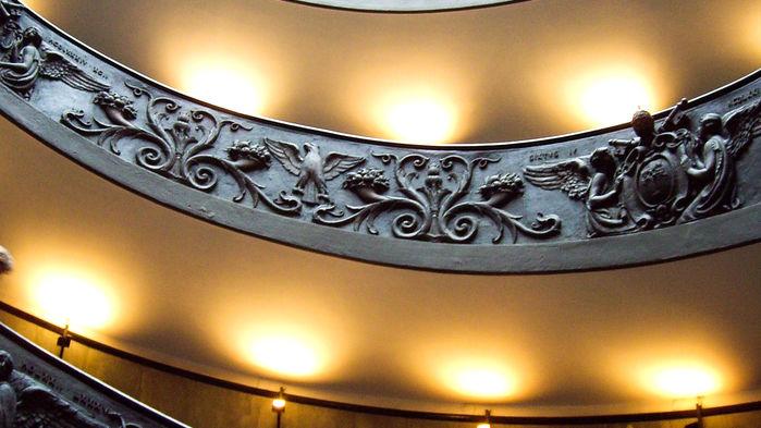vatikanens trappa