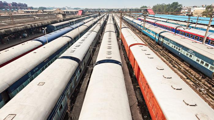 a train to delhi