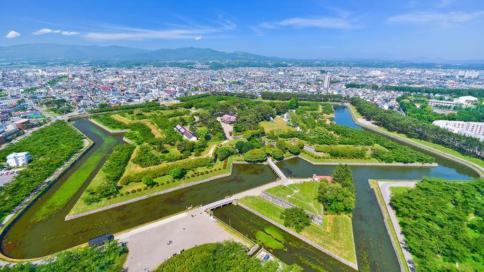 Goryokako, fortet i Hakodate, Hokkaido