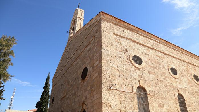 kyrkobyggnad i Madaba