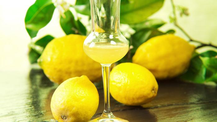 citroner och limoncello