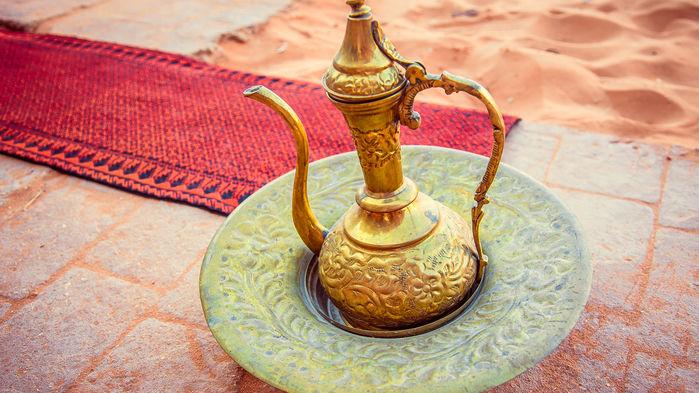 te hos beduiner