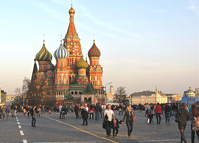 Vasilijkatedralen (1550-talet), Röda Torget Moskva