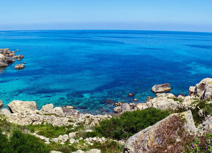 Lagun på Gozo