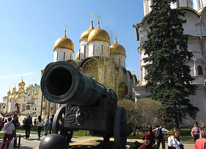 Tsarkanonen från 1586, Kreml Moskva