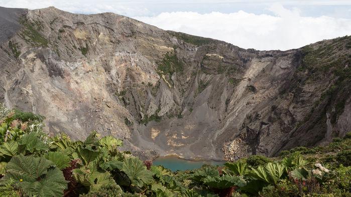 Vulkanen Irazú, San Jose