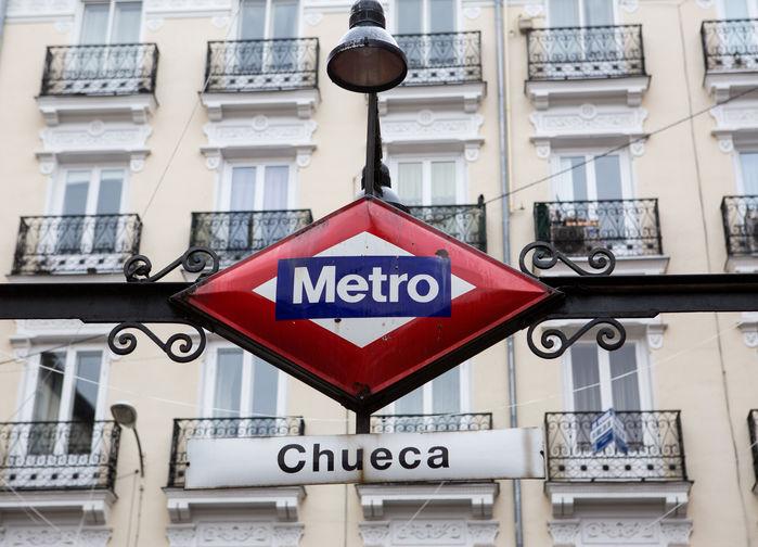 Tunnelbanestationen Chueca
