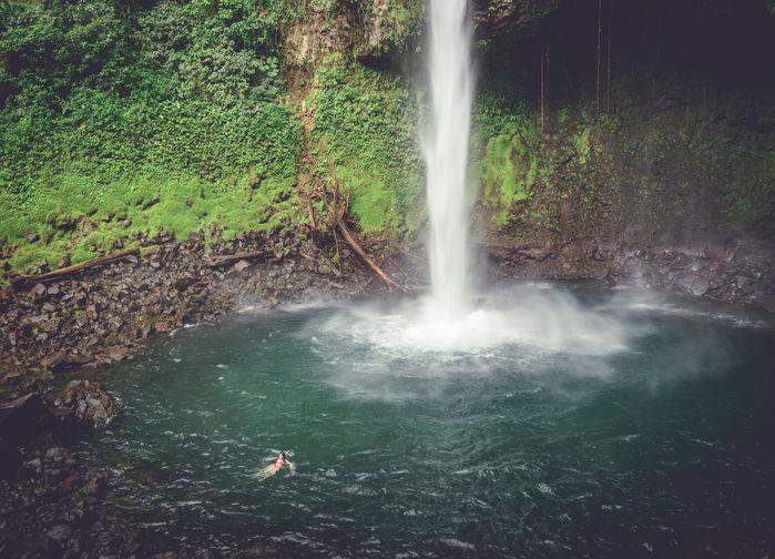 vattenfall vid La Fortuna