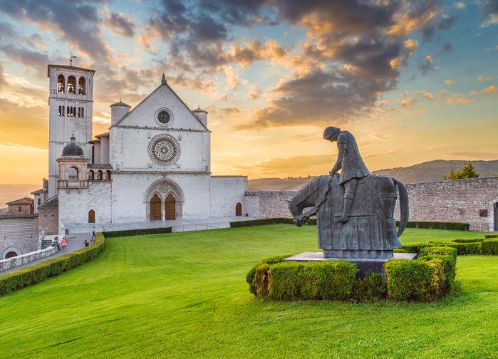 Franciskuskyrkan i Assisi