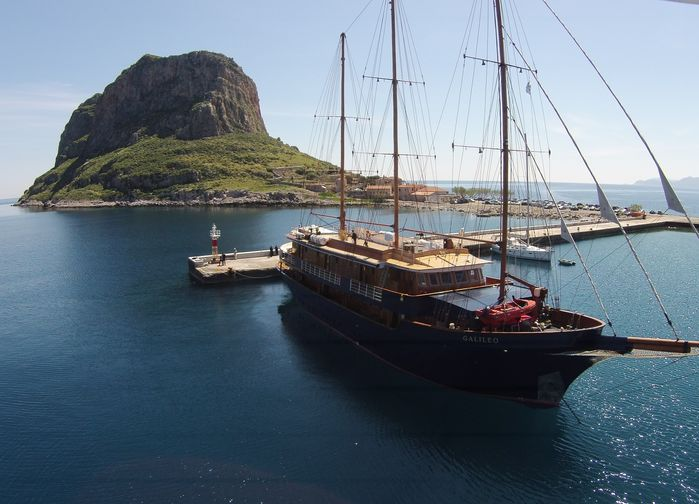M/S Galileo at Monemvasia