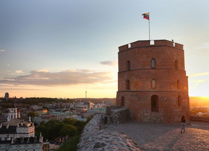 Gediminas tornet i Vilnius