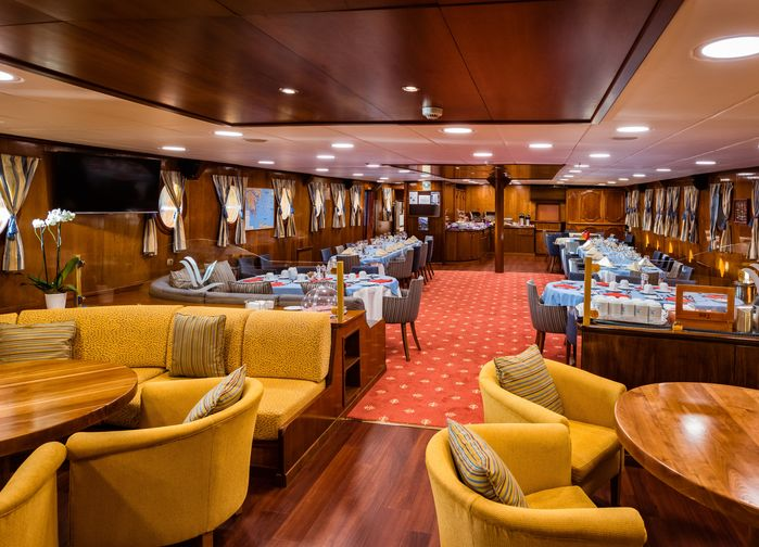 Lounge on M/S Galileo