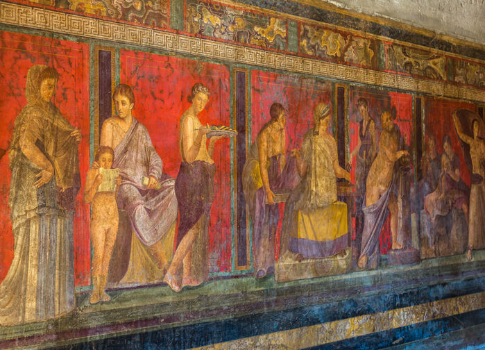Pompejis freskomalerier
