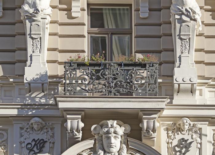 Art nouveau arkitektur i Riga