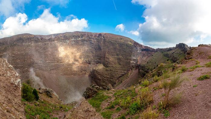 Vesuviius krater