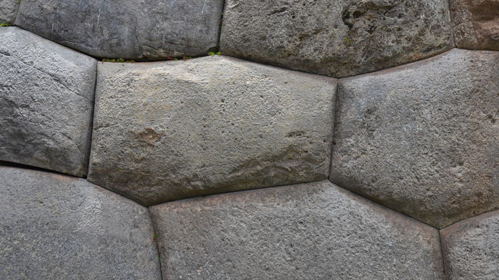 Stenmur i Machu Picchu
