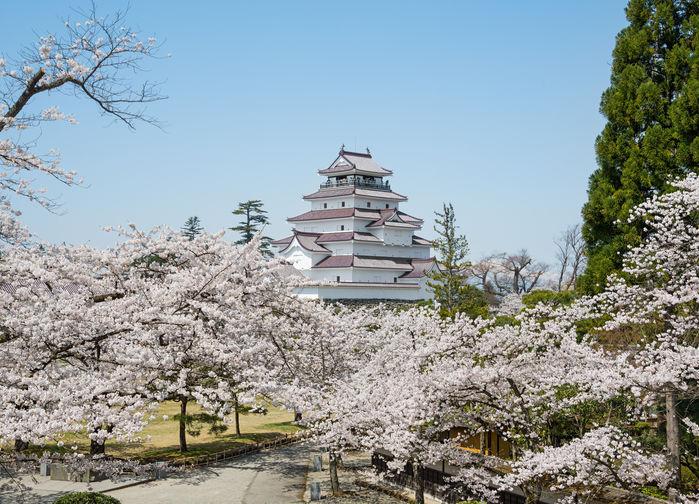 Aizu samuraistaden, Honshu