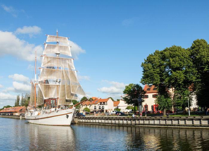 Mysiga hamnstaden Klaipeda
