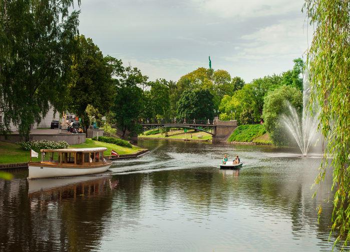 Kanalen i Riga