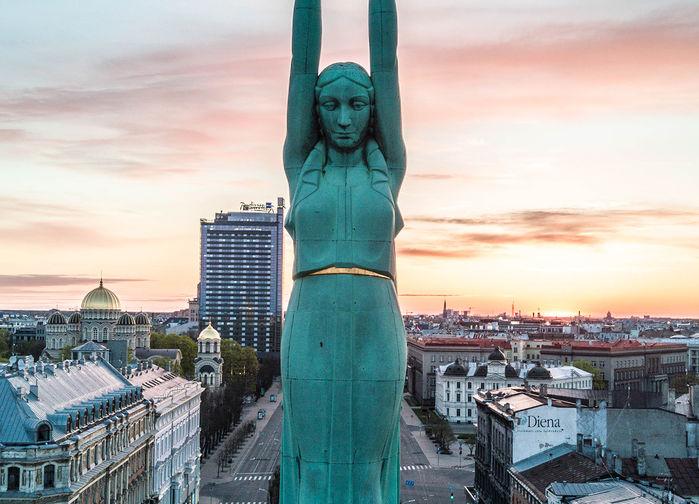 Frihetsmonumentet i Riga