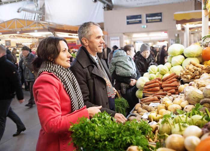 Marknaden i Riga