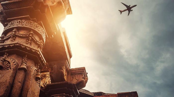 flygresa från Delhi