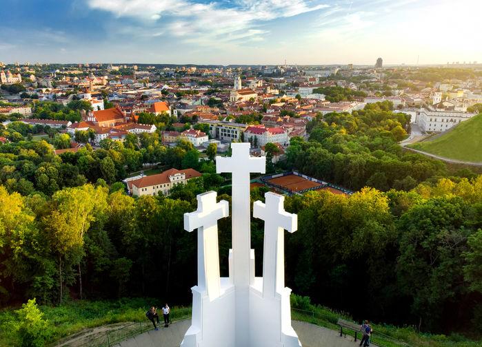 Vy över Vilnius