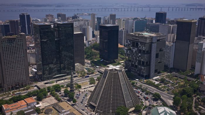 Centrala Rio med Stadskatedralen