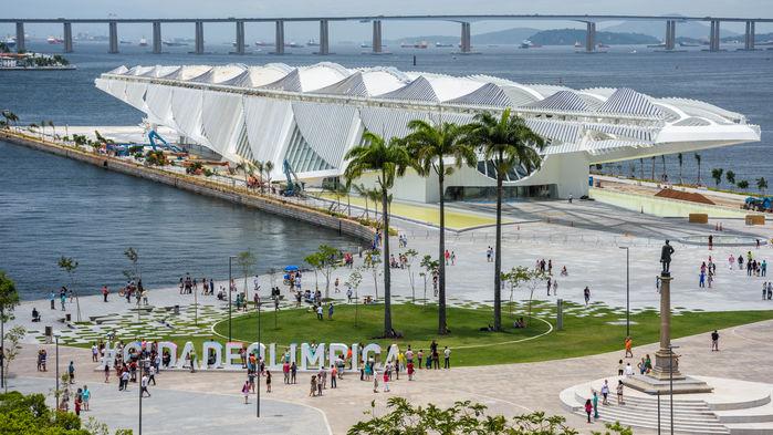 Museu do Amanhã, Meseet över Morgondagen.
