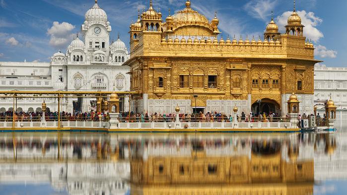 gyllene templet i Amritsar