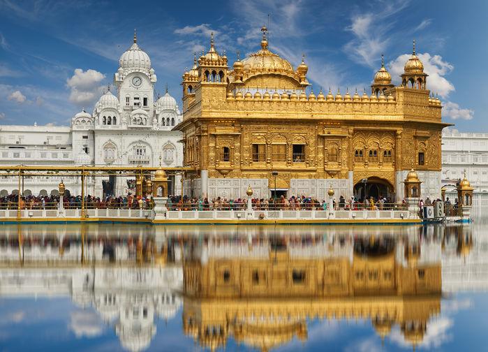Det gylne templet i Amritsar