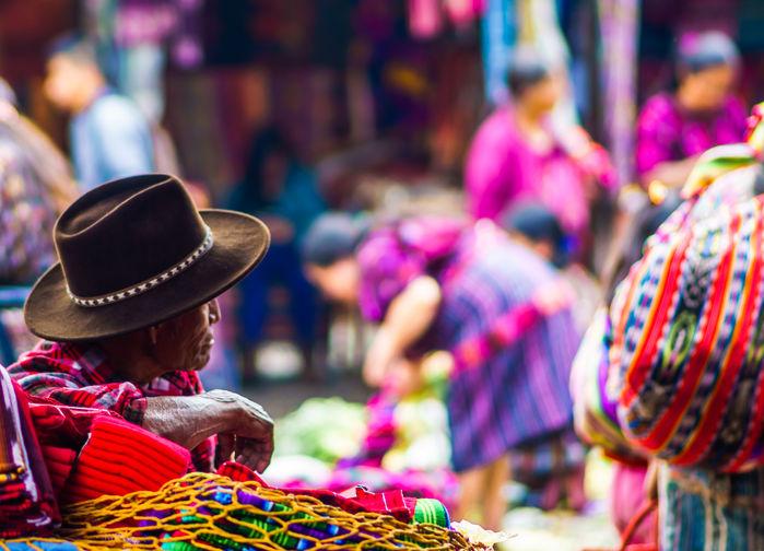 Chichicastenago market