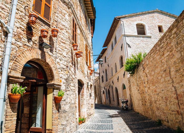 Assisi stadsbild
