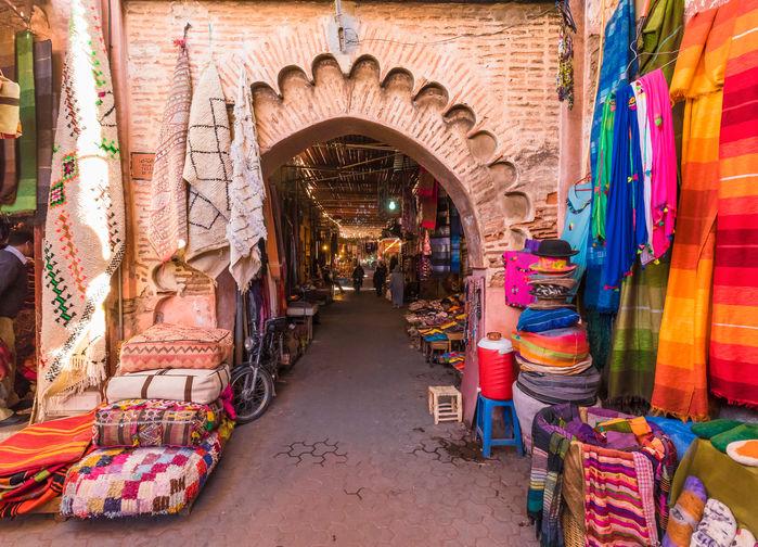 Gamla Medinan i Marrakesh