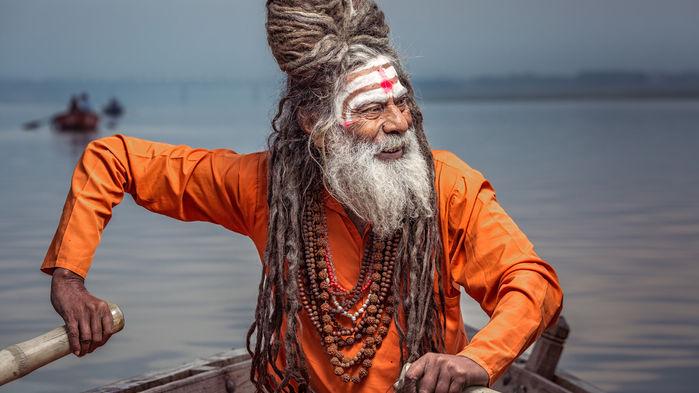 sadhu i Varanasi