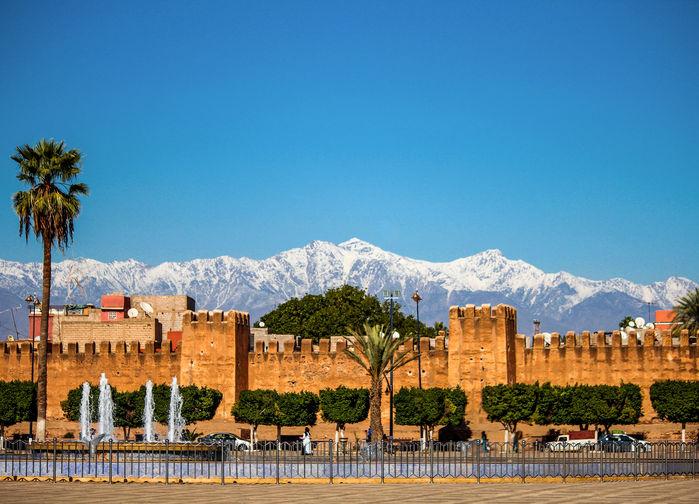 Taroudant, ofta kallad lilla Marrakech