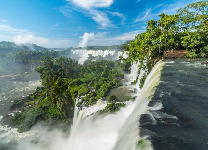 Iguazufallen från den argentinska sidan