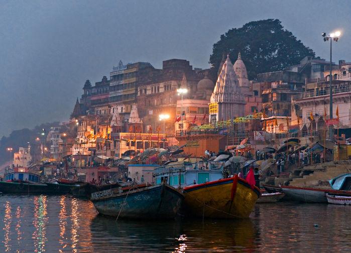 Steintrapper i Varanasi