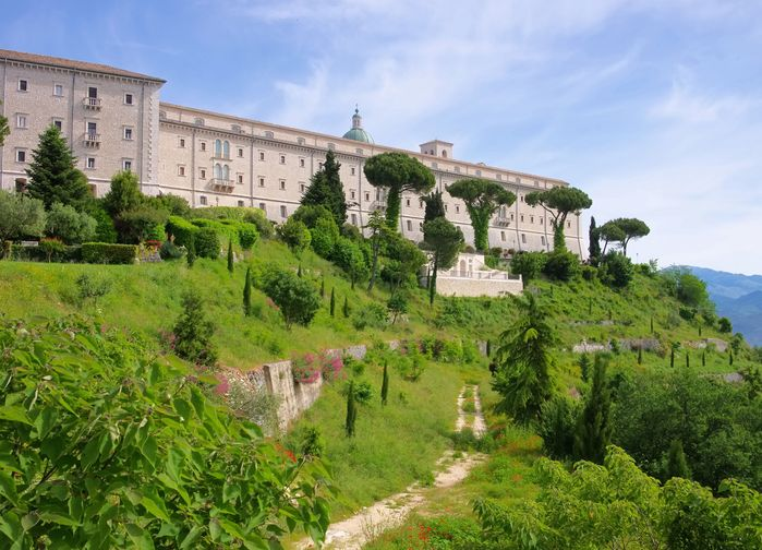 Klostret i Monte Cassino