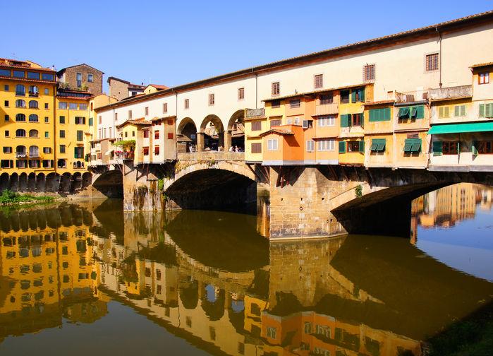 Ponte Vecchiobron i Florens