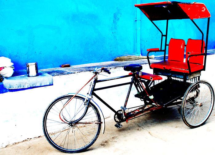 Cykelrickshaw Delhi
