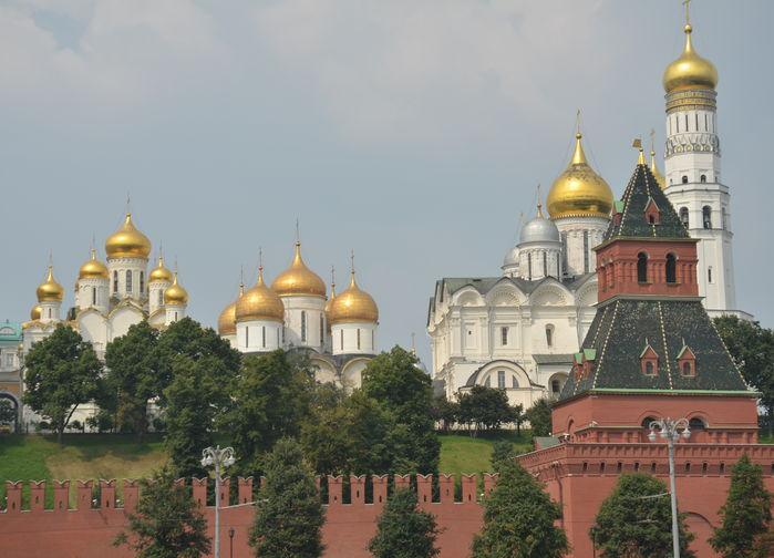 Bak Kremls murer