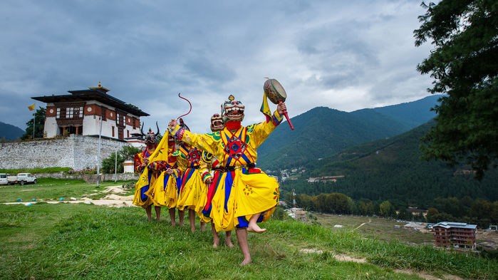 dans i bhutan