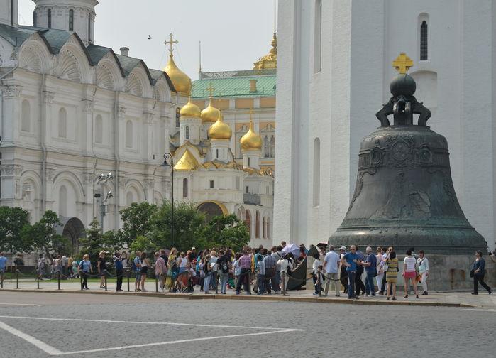 Tsarklockan, Kreml Moskva
