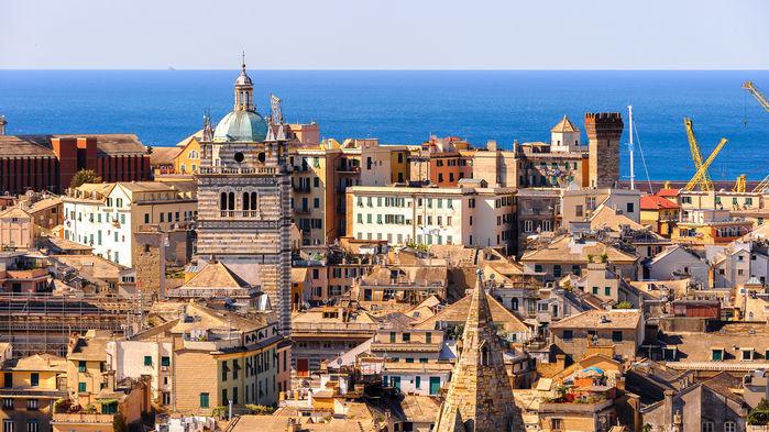 Genova skyline