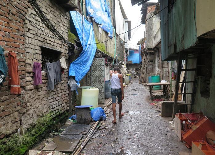 Dharawi slum, Mumbai