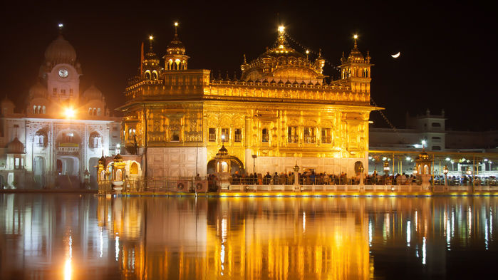 det gyllene templet, Amritsar