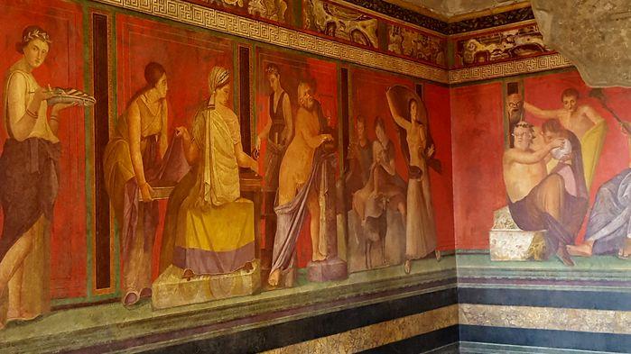 Mysterievillaen Pompeji