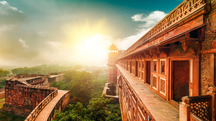 Röda fortet Agra
