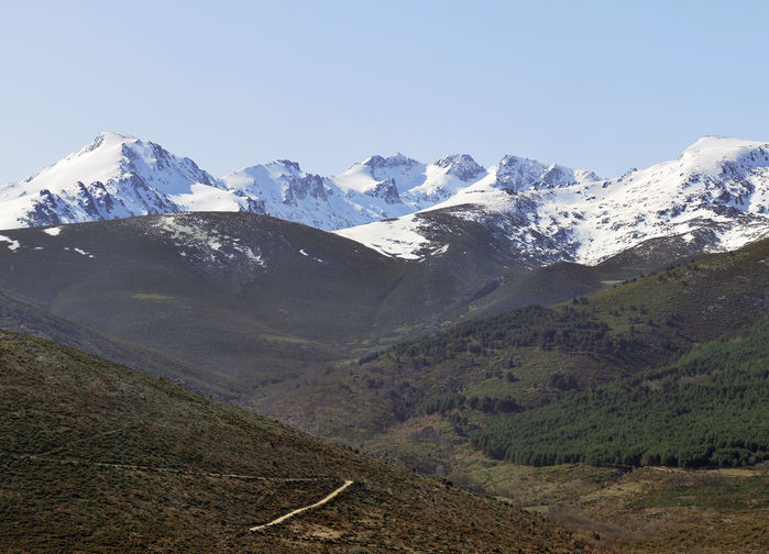 Gredos. Högsta topp 2595 m ö h